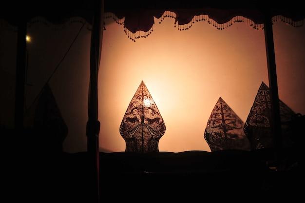 Wayang kulit é a cultura javanesa da indonésia
