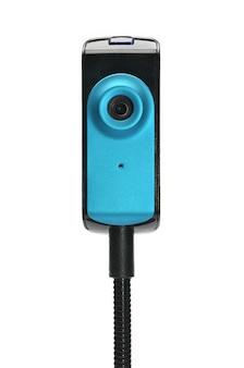 Webcam capaz de capturar imagens para transmissão em tempo real pela internet em tempo real