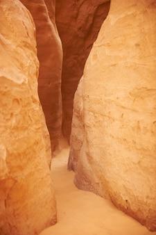 White canyon no deserto do sinai