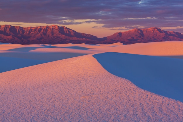 White sands park nos eua