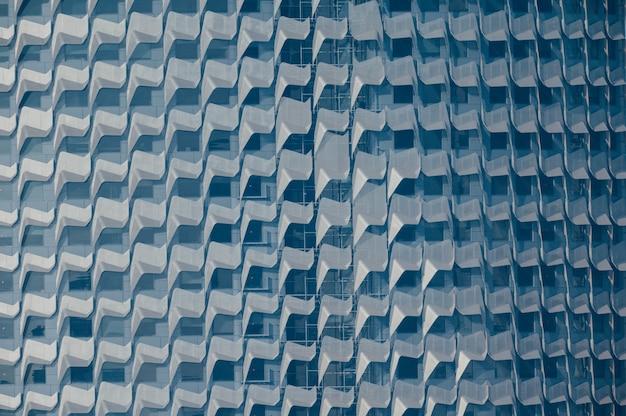 Windows de um edifício comercial
