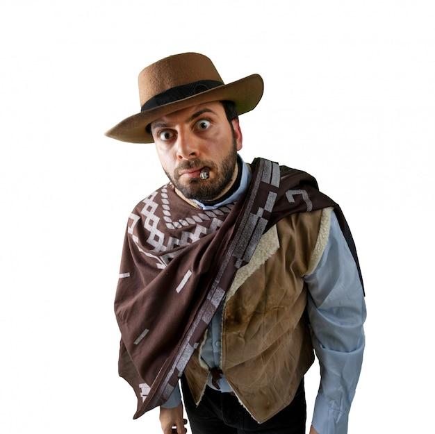 Wow gunfighter no velho oeste selvagem
