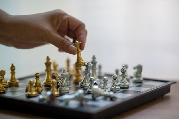 Xadrez, competição de xadrez, vencendo no xadrez, jogo de vitória da competição
