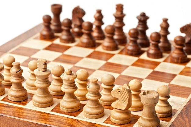 Xadrez - início do jogo