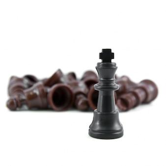 Xadrez outwit corporativa derrotado peças