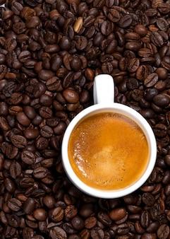 Xícara de café branca, 12 horas