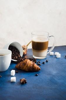 Xícara de café delicioso