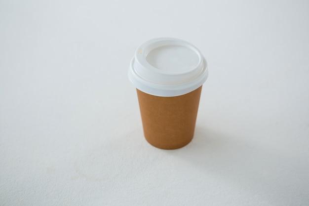 Xícara de café descartável