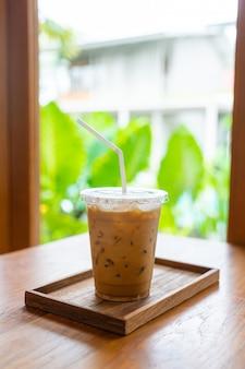 Xícara de café gelado