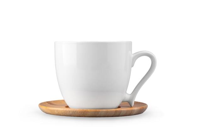 Xícara de café isolada em um fundo branco