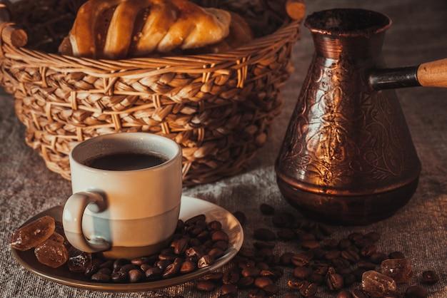 Xícara de café turco