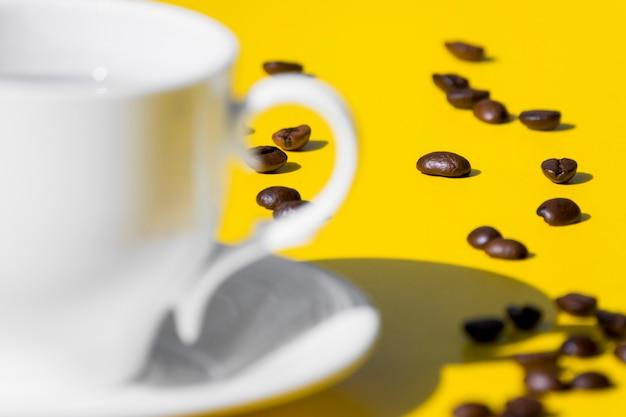 Xícara de café vazia