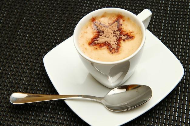 Xícara de cappuccino