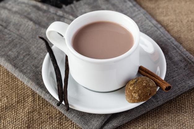 Xícara de chocolate