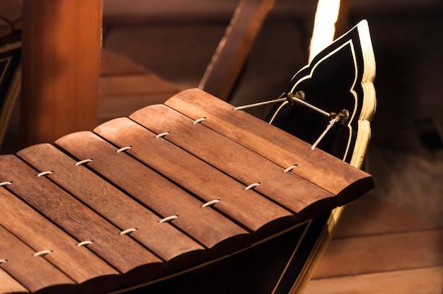 Xilofone é instrumentos musicais tailandeses