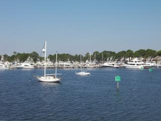 Yacht club marina