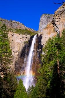 Yosemite bridalveil queda cachoeira califórnia