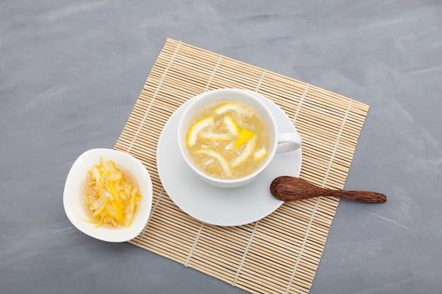 Yujacha é um chá coreano popular para suporte imunológico