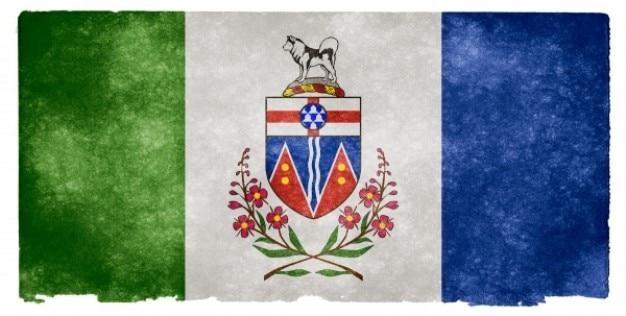 Yukon grunge bandeira