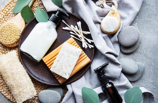 Zero resíduos de produtos cosméticos naturais