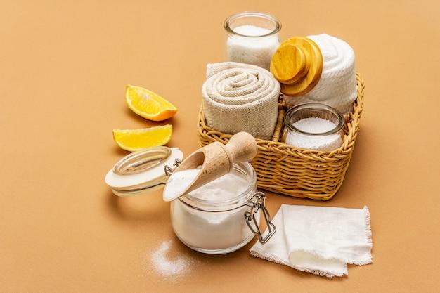 Zero resíduos de produtos de limpeza doméstica