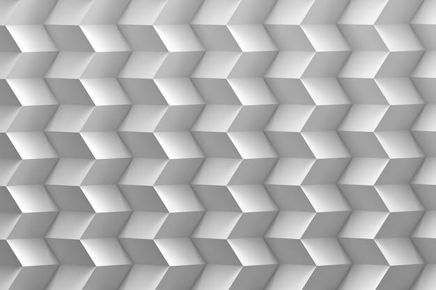 Ziguezague branco nas cores brancas
