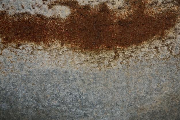 Zinco de ferrugem na textura e fundo