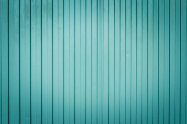 Zinco de superfície verde vintage.