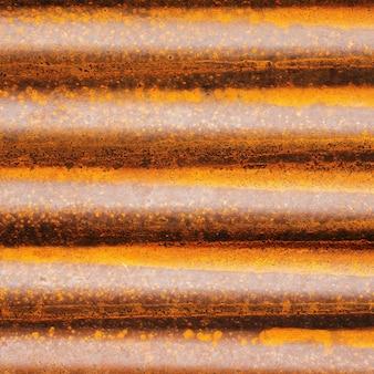 Zinco ou ferro velho com ferrugem. antigo fundo de textura de parede de ferrugem.