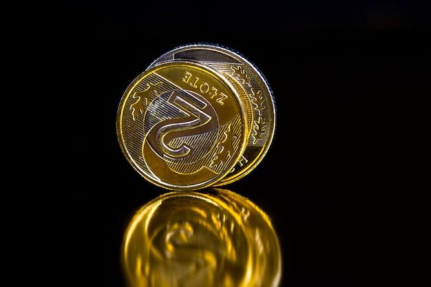 Zlotys de moedas polonesas