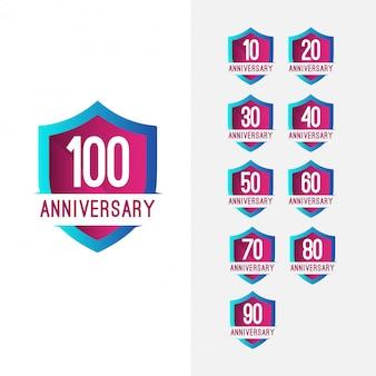 100-jähriges jubiläum set feier