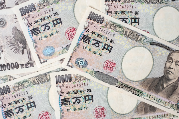 10000 japanische yen banknote