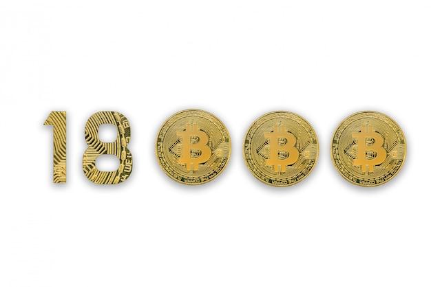 18000 bitcoins