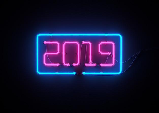 2019 guten rutsch ins neue jahr 3d übertragen
