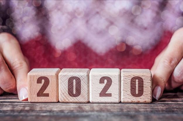 2020 neujahrskonzept