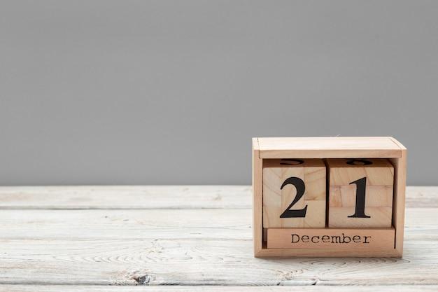 21. dezember 21. dezember, kalender. winterzeit