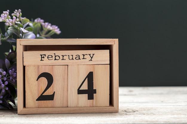 24 februar monat, kalender