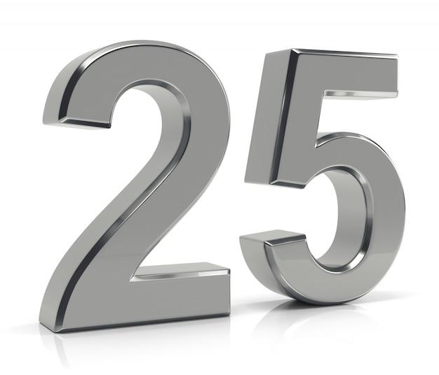 25 prozent rabatt 3d-text