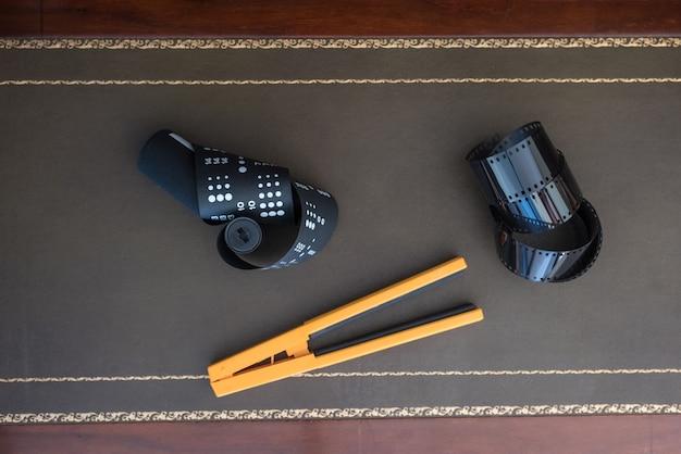 35mm und 120 fotofilm und rolle