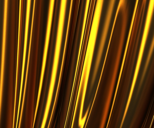 3d-bild der goldgewebestruktur