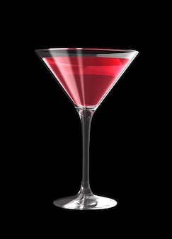 3d cocktailglas