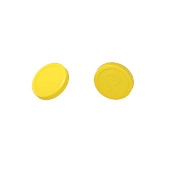 3d-darstellung von münzen