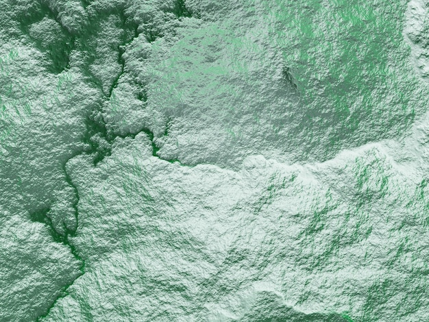 3d-draufsicht auf topografisches gelände