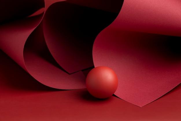 3d gerenderte abstrakte designelemente sortiment