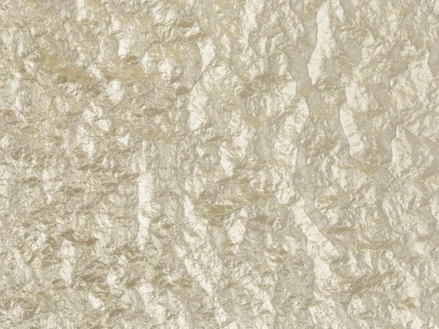 3d gerenderter abstrakter gewellter metallischer hintergrund