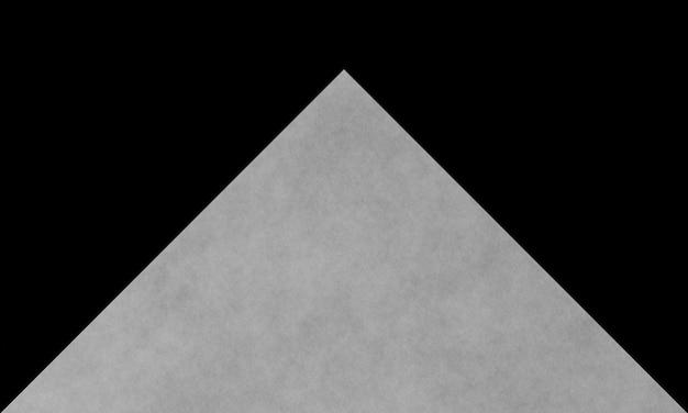 3d gerenderter abstrakter hintergrund des schwarzweiss-papierschnitts