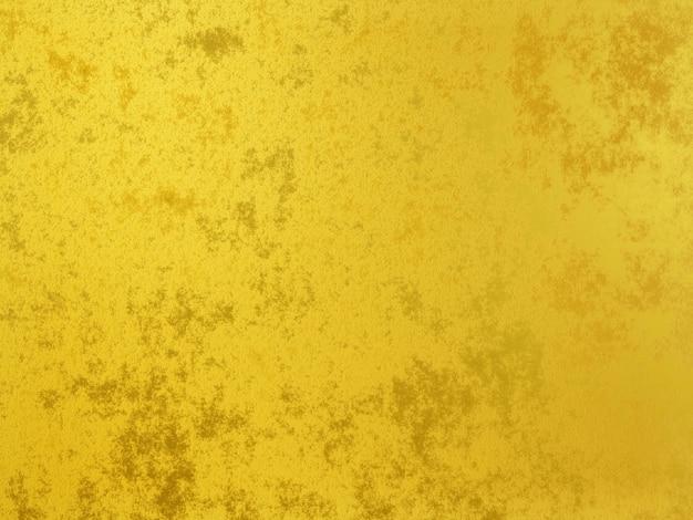 3d gerenderter goldener wandhintergrund