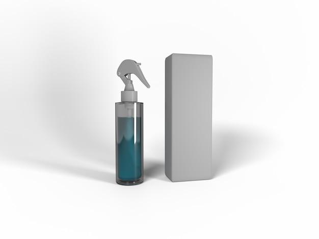 3d-illustration. sprühgerät für verschiedene zwecke. modell für musterentwürfe.