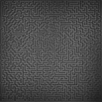 3d-labyrinth-design top-wiev-design-element