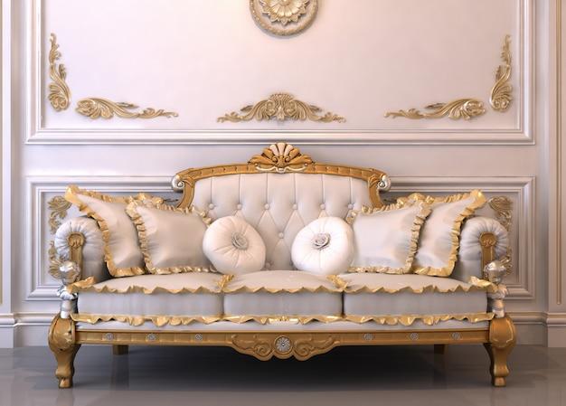 3d luxus innenraum